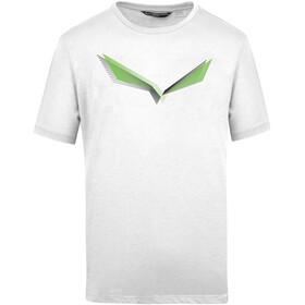SALEWA Lines Graphic Dry T-shirt Herrer, hvid